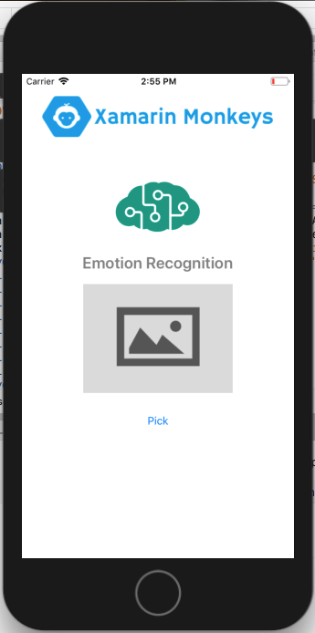 Xamarin.Forms - Emotion Recognition Using Cognitive Service