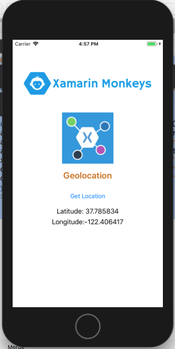 Xamarin.Forms - Geolocation Using Xamarin Essentials