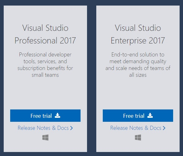how to create android application using ms visual studio 101