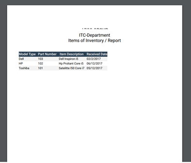 how to resize report exporting of Data Table as PDF ?